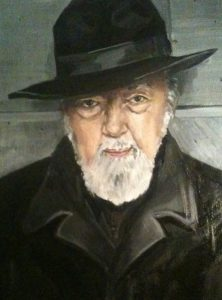 Detail from a portrait by Jenny C Hall